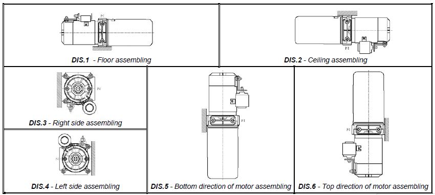 mini交流动力单元 - 液压系统及动力单元